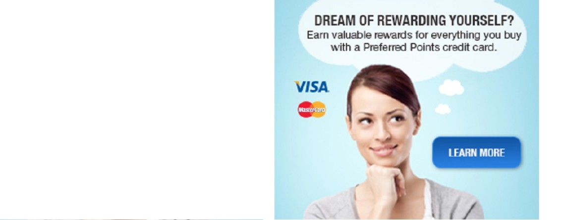We Now Offer Credit Card Services